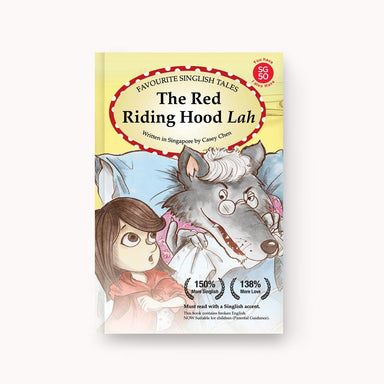 The Red Riding Hood Lah story book - Local Books - Singapulah - Naiise
