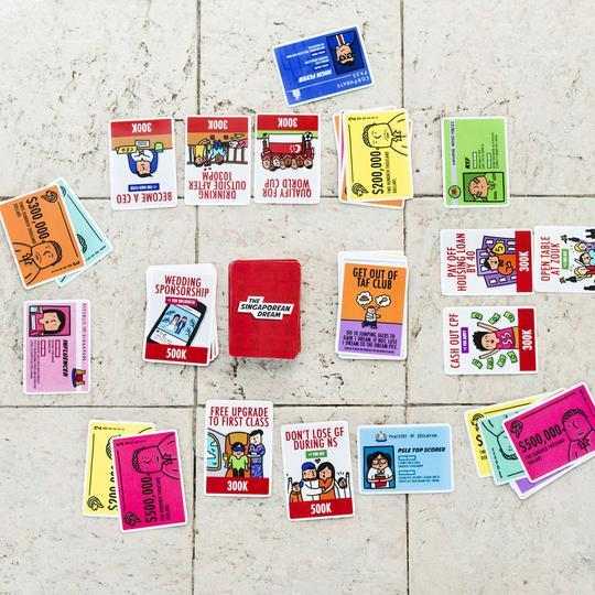 The Singaporean Dream Card Game Local Card Games SGAG