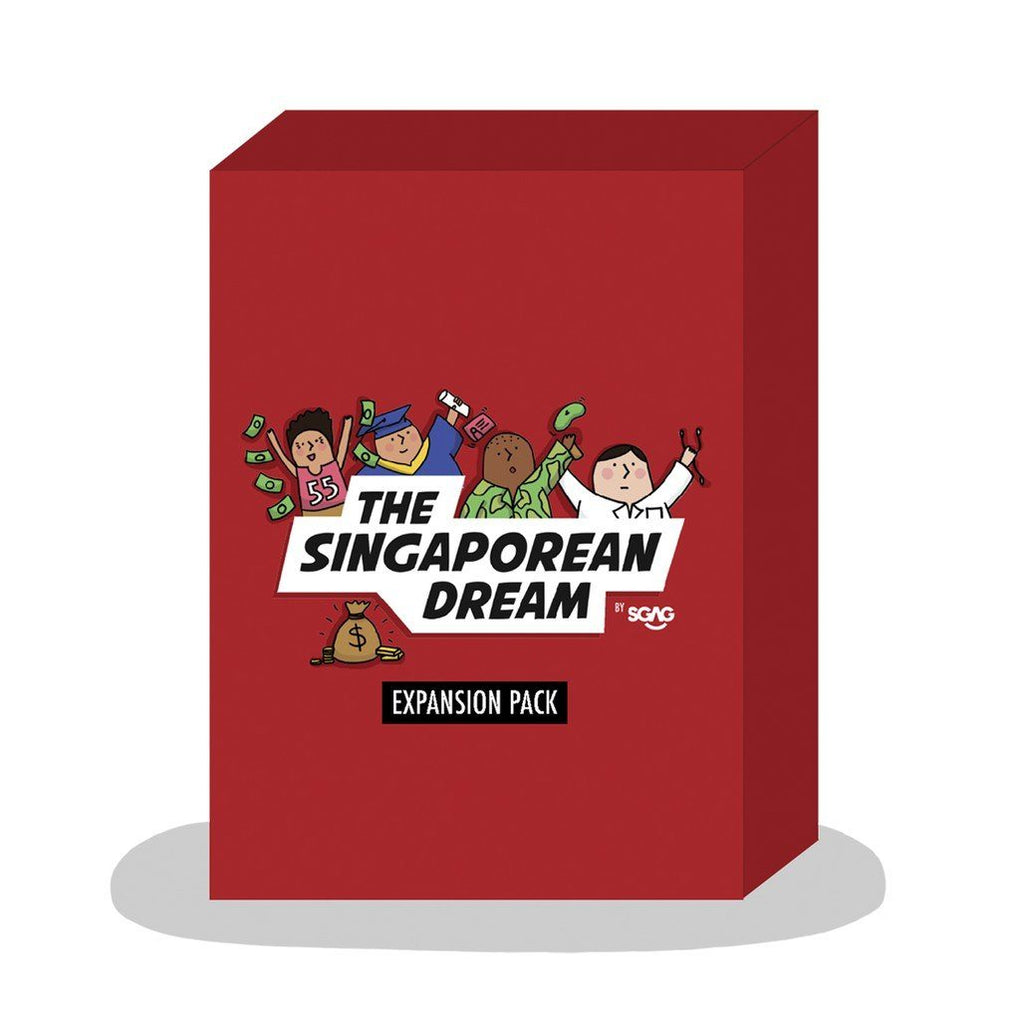 The Singaporean Dream Expansion Pack Local Card Games SGAG