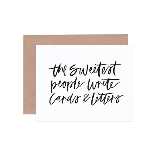 The Sweetest People Card - Friendship Cards - Mint & Ordinary - Naiise