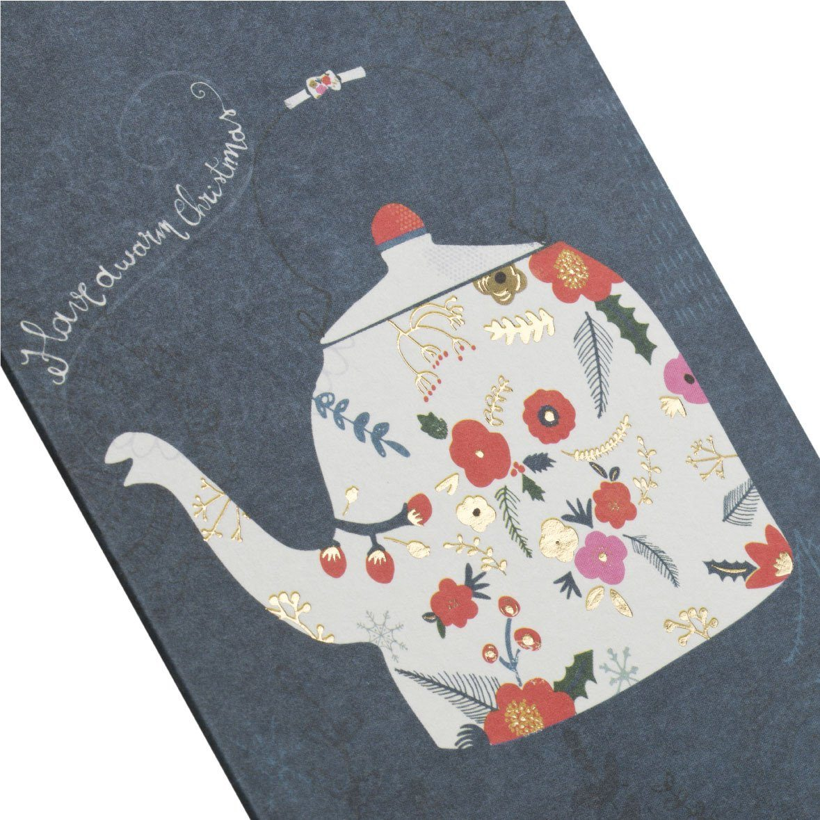 The Teapot Greeting Card - Christmas Cards - MULTIFOLIA ATELIER di Rita Girola - Naiise
