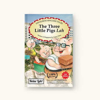 The Three Little Pigs Lah story book - Local Books - Singapulah - Naiise