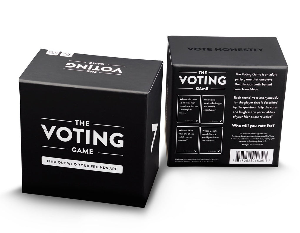The Voting Game Card Games The Voting Game