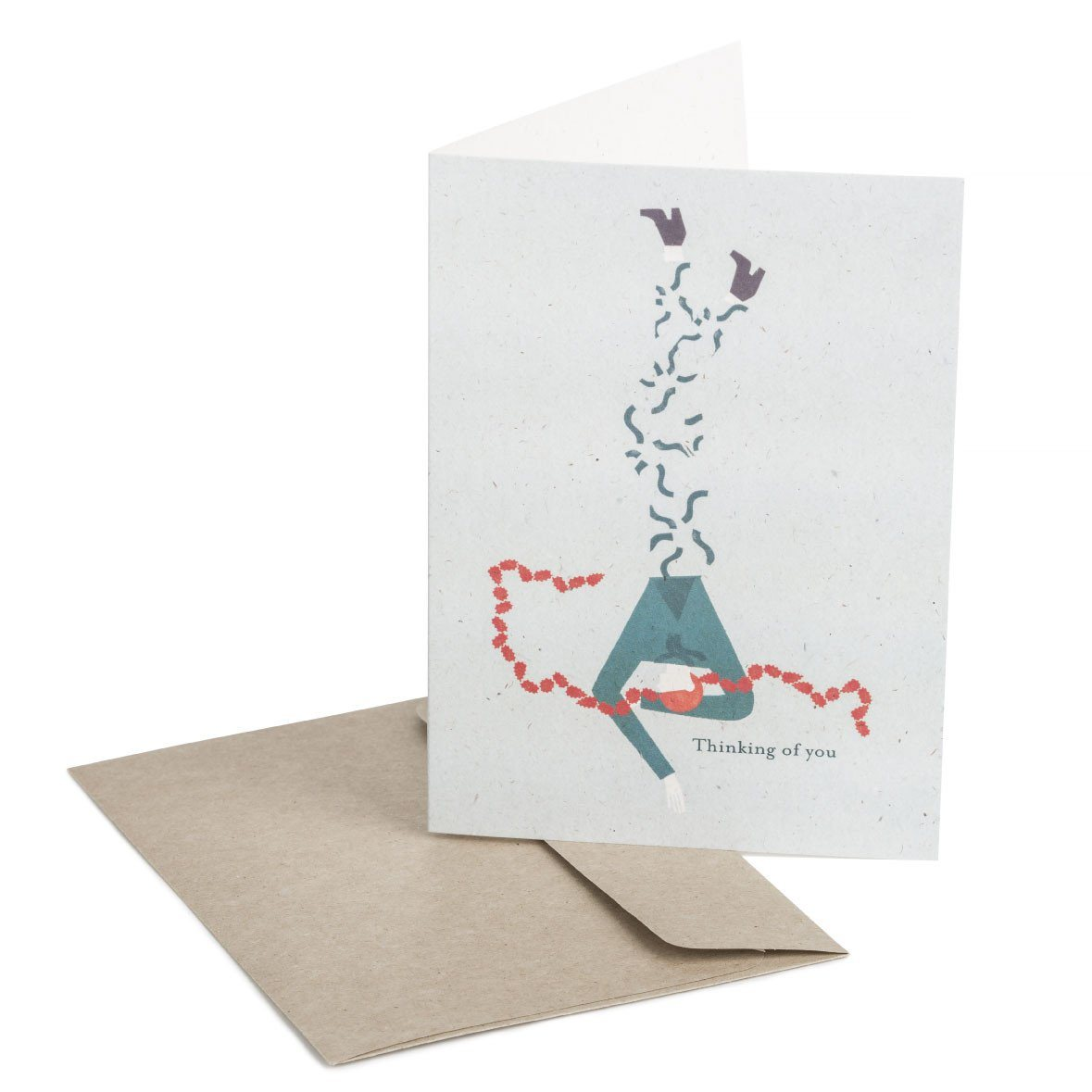 Thinking of you Greeting Card - Generic Greeting Cards - MULTIFOLIA ATELIER di Rita Girola - Naiise