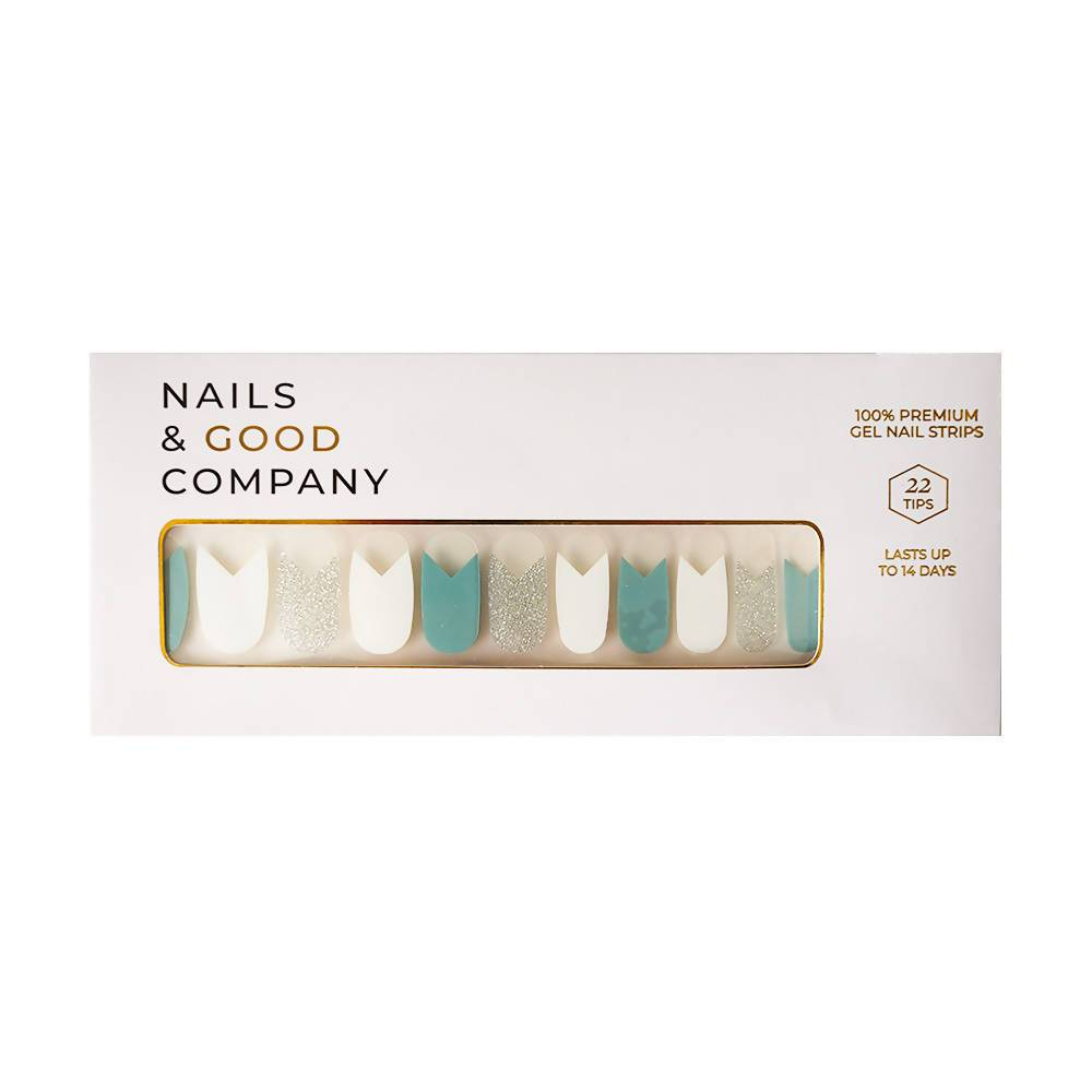 Tiffany Blue Nail Wrap - Nail Wraps - Nails & Good Company - Naiise