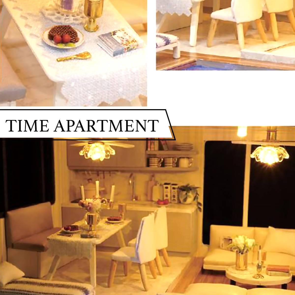 Time Apartment Doll House - DIY Crafts - Blue Stone Craft - Naiise
