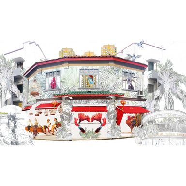 Tiong Bahru Print (Pre-Order) - Local Prints - Hollis Carney Art - Naiise