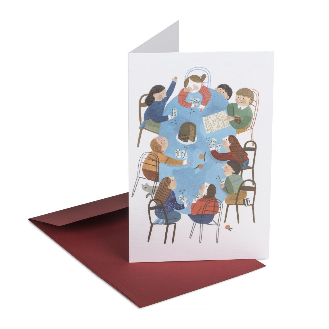 Tombola! Greeting Card - Christmas Cards - MULTIFOLIA ATELIER di Rita Girola - Naiise