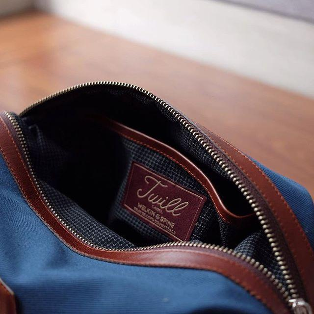 Traveling Dopp Kit Mens Pouches Welkin & Spine