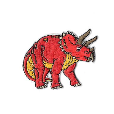 Triceratops Iron On Patch - Iron On Patches - Pew Pew Patches - Naiise