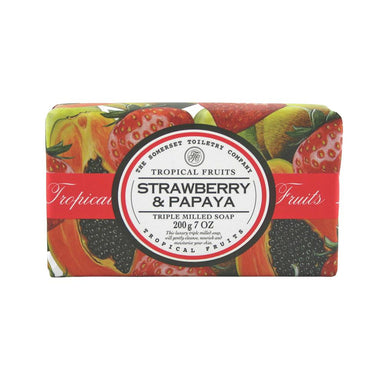 Tropical Fruit Soap Strawberry and Papaya Soaps Tropical Fruit