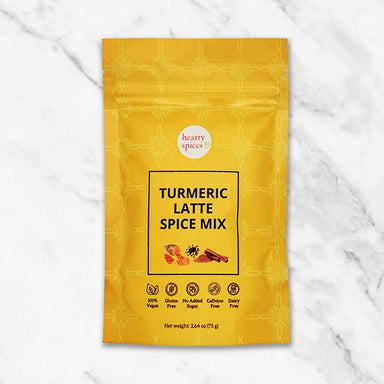 Turmeric Latte Spice Mix Health Food Hearty Spices