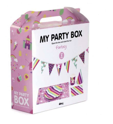 MY PARTY BOX - Fantasy Party Tableware - Partyware - The Planet Collection - Naiise