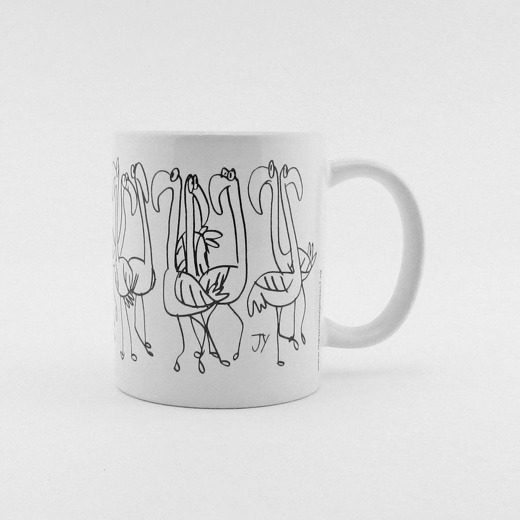 U-Mug - Flamingoes Mugs The Animal Project