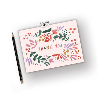 Thank you - Thank You Cards - Changi Chowk - Naiise