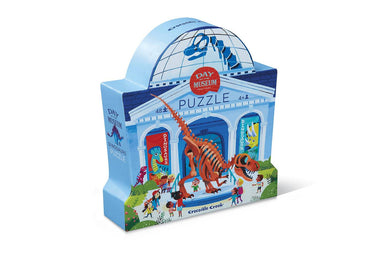 48-pc Puzzle Day at the Museum - Dinosaur - Kids Puzzles - The Children's Showcase - Naiise