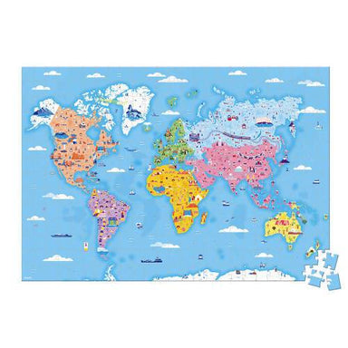 Educationl Puzzel World Curiousities 350 Pieces - Kids Toys - The Children's Showcase - Naiise