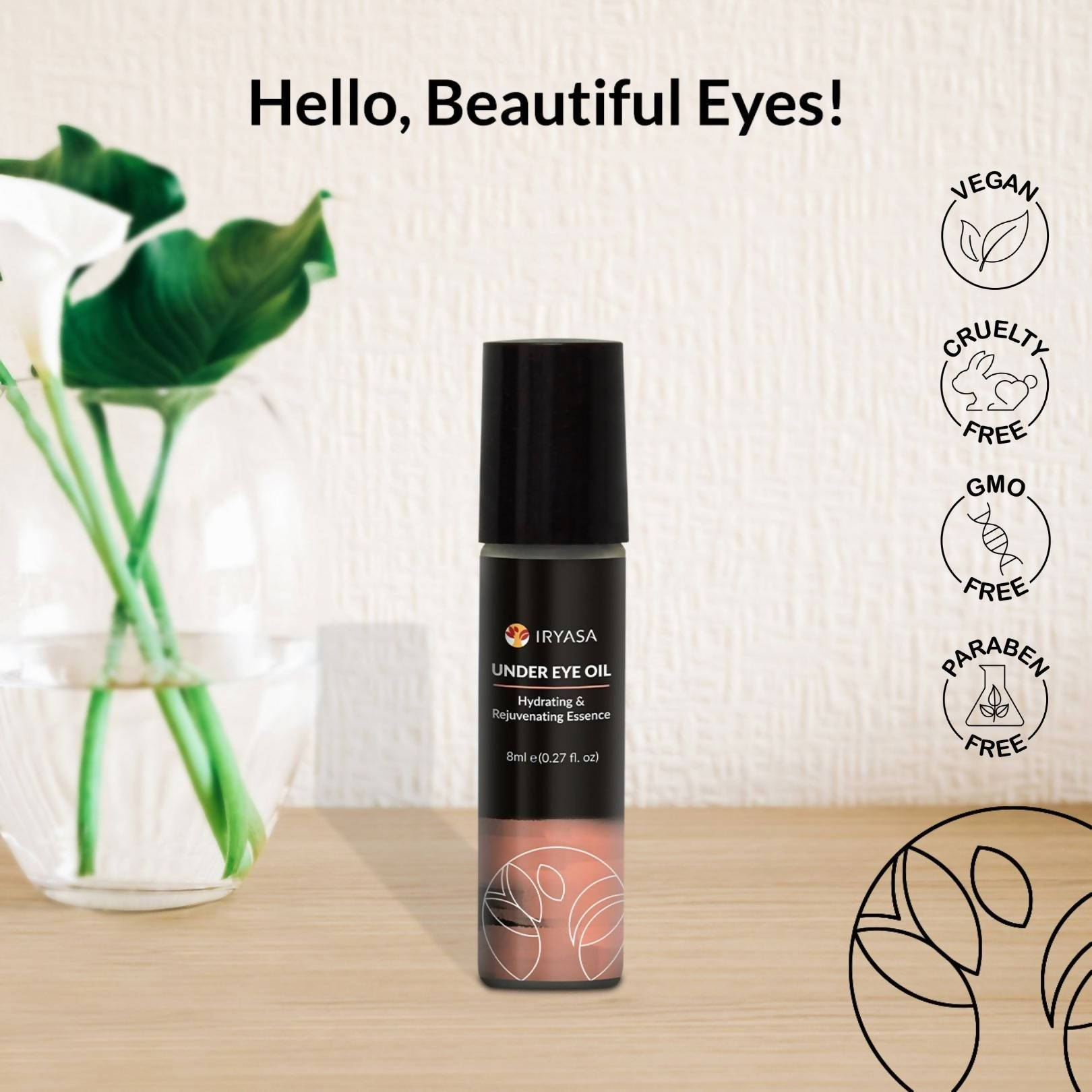Under Eye Oil - Eye Serum - Iryasa - Naiise