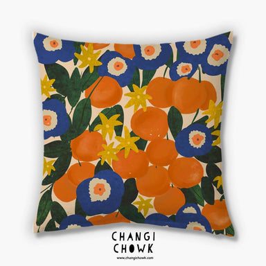 Cushion Cover - Orange Orchard - Cushion Covers - Changi Chowk - Naiise
