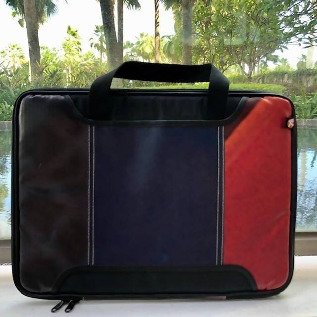 Upcycled Laptop Bag Laptop Bags The Java Eco Project