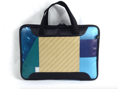 Upcycled Laptop Bag - billboard banner - Laptop Bags - Java Eco Project - Naiise