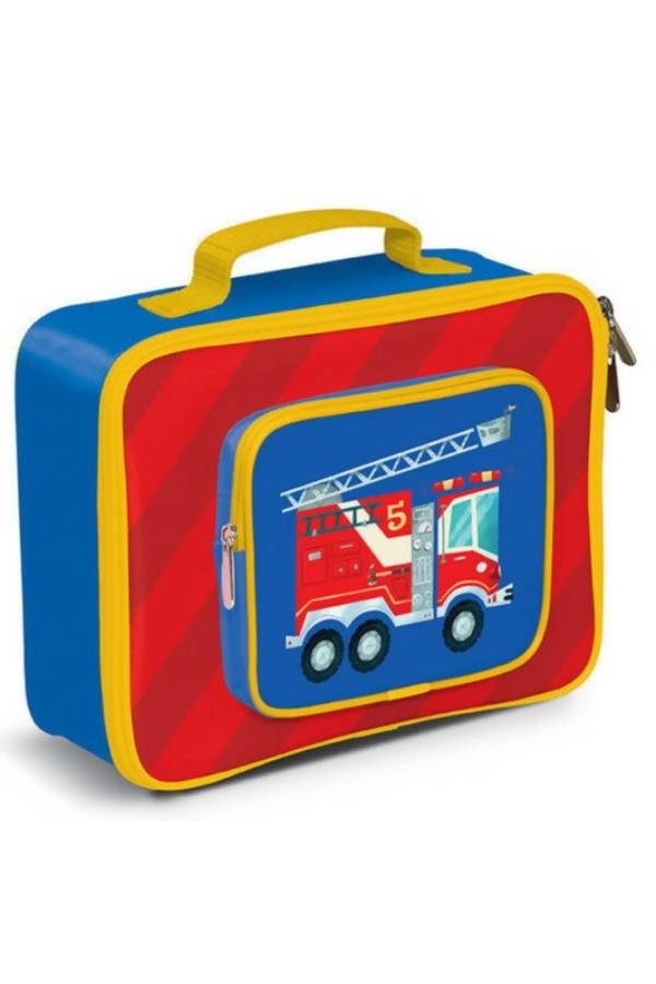 Crocodile Creek Lunch Bags - Fire Engine - Lunch Bags - The Children's Showcase - Naiise