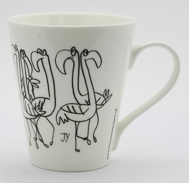 V-Mug - Flamingoes Mugs The Animal Project