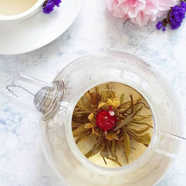 Vanilla Fields Blooming Tea (Vanilla) - Teas - Petale Tea - Naiise