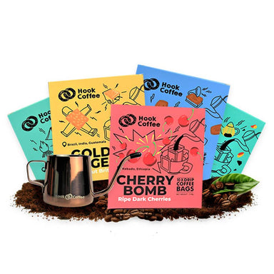 Variety Hook Bags Gold Package Coffee Hook Coffee