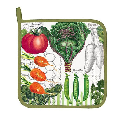 Vegetable Kingdom Potholder Cooking Utensils Michel Design Works