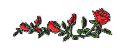 Vine of Roses Patch - Sticker Patches - Pew Pew Patches - Naiise