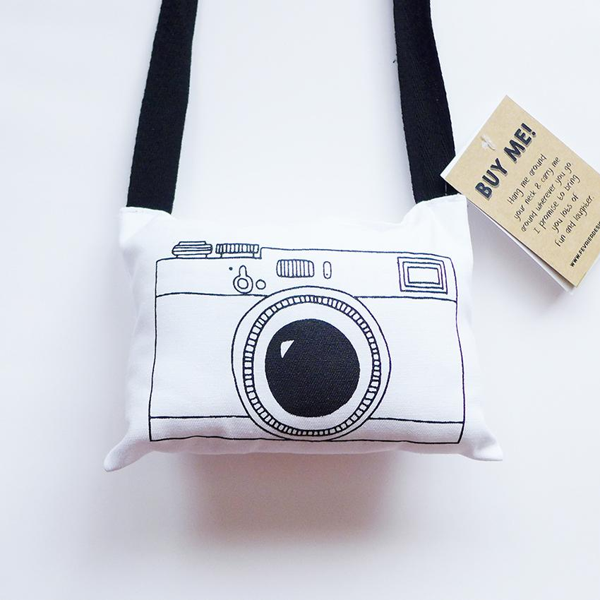 Vintage Camera Plushie - Cushions - Fevrier Designs - Naiise