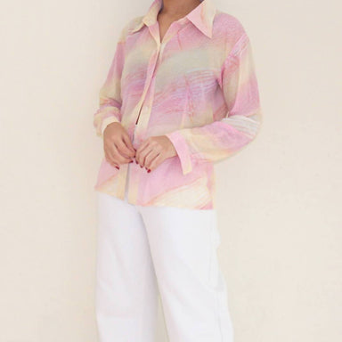 Vintage Pastel Blouse - Women's Tops - Lucky Chance - Naiise