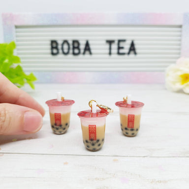 Bubble Tea Pearl Milk Tea Charm - Charms - Deli Charms - Naiise