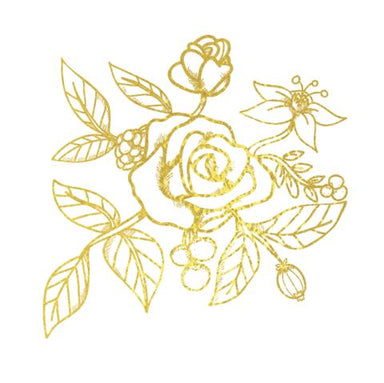 Vogue - Rose Gold Temporary Tattoo - Temporary Tattoos - Habitatt Supply Co - Naiise
