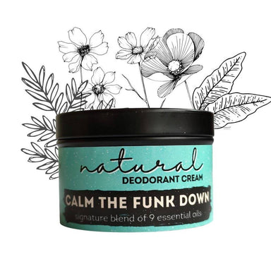 Calm the Funk Down | Natural Deodorant | Signature Scent 40grams Deodorants Twisted Dua