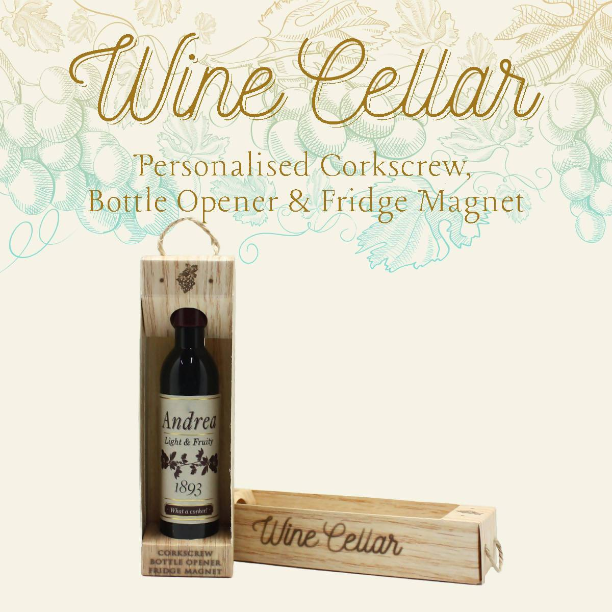 WINE CELLAR - For Wine Lover : Andrea - Bottle Openers - La Belle Collection - Naiise