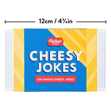 Ridley's 100 Cheesy Jokes - Card Games - The Planet Collection - Naiise