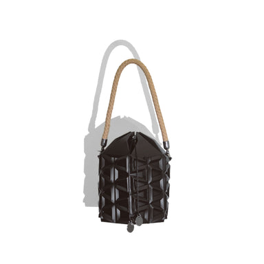 Waffle Bucket Bag - Handbags - Repleat - Naiise