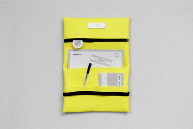 Wallet / Tobacco Pouch - Yellow Pouches wetheknot