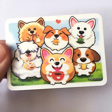 Wangderfood Dogs Fridge Magnet Local Magnets Lim Hang Kwong
