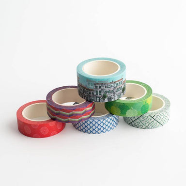 Washi Tapes - Pasar Malam Assorted - Washi Tapes - Ok Can Lah - Naiise