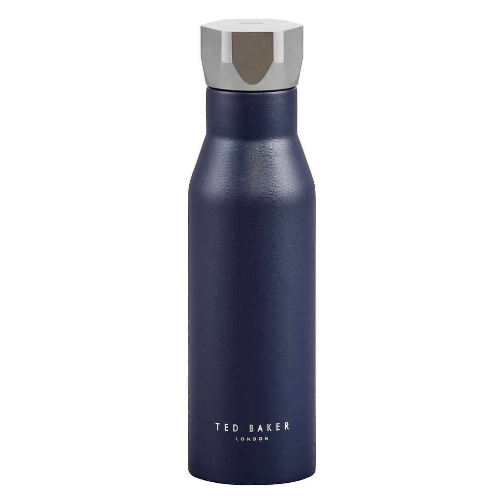Water Bottle Hexagonal Lid Navy Water Bottles TED BAKER