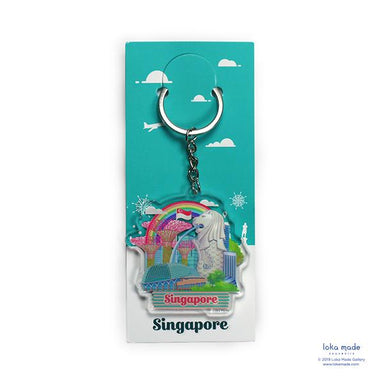 Waterfront Fun Key Chain - KC15 Local Keychains Loka Made