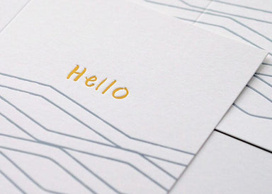 Wave Hello Card Generic Greeting Cards ditto ditto
