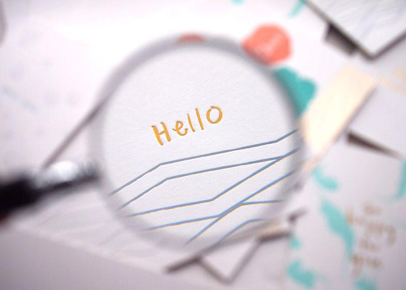 Wave Hello Card - Generic Greeting Cards - ditto ditto - Naiise