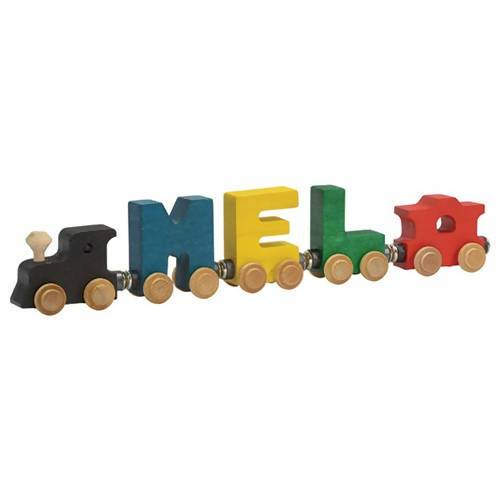 Maple Landmark Magnetic NameTrain - Baby Gifts - After Organic - Naiise