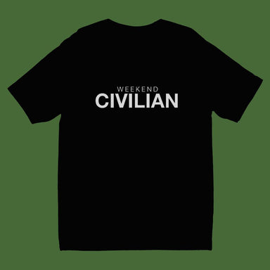 Weekend Civilian Crew Neck S-Sleeve T-shirt (Pre-Order) - Local T-shirts - Wet Tee Shirt - Naiise