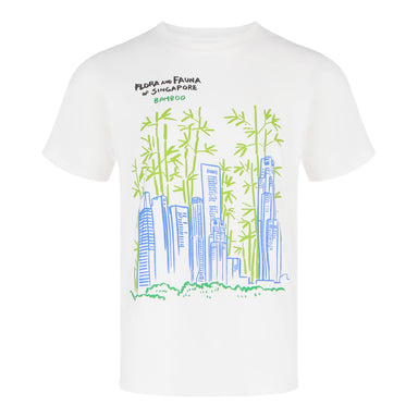 Fast-Growing Skyscrapers and Evergreen Bamboo (KS12) Singapore T-shirts Local T shirts Singapore Souvenirs Gifts - Local T-shirts - Flora And Fauna Of Singapore - Naiise