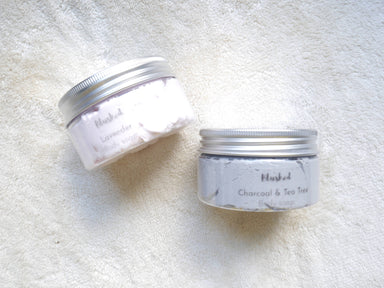Whipped soap - charcoal & tea tree, lavender New Arrivals Loopy Fruppy